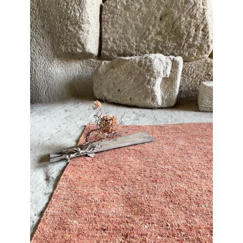 Gyapjúszőnyeg - terrakotta